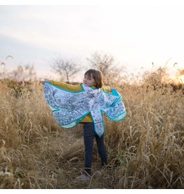 Great Pretenders Colour-A-Cape, Dragonfly Wings, Size 4-7