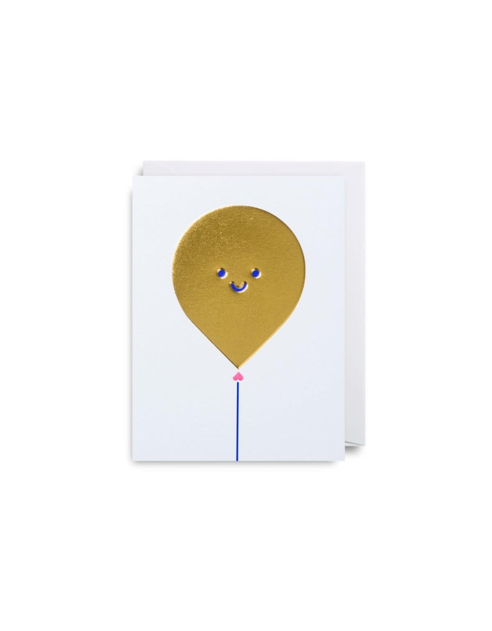 Paper E Clips Happy Balloon Mini Card