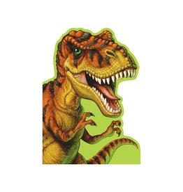 Peaceable Kingdom Ferocious T-Rex Die-Cut