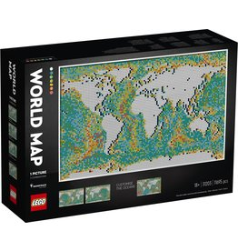 LEGO Art - 31203 World Map