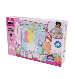 Plus-Plus Big Picture Puzzles Pastels 60 Pcs