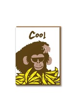 Paper E Clips Monkey Card