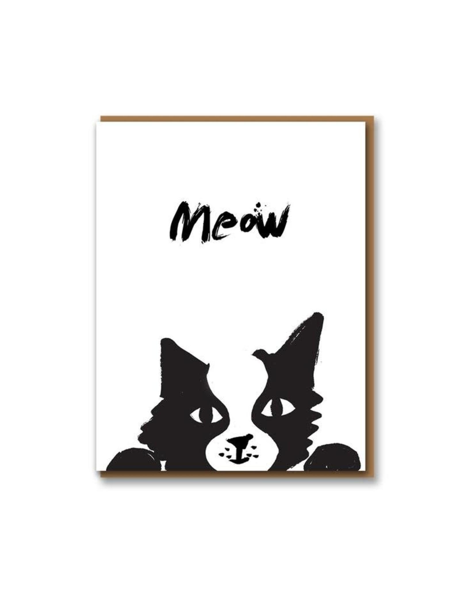 Paper E Clips Cat Card