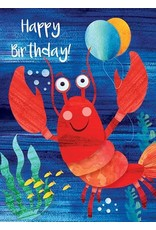 Paper E Clips Lobster Card