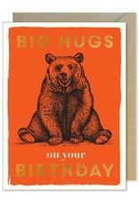 Paper E Clips Birthday Bear Card