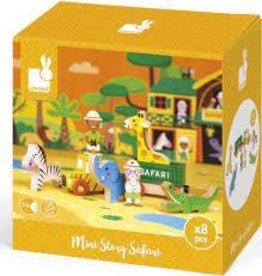 Janod Mini Story Box Safari