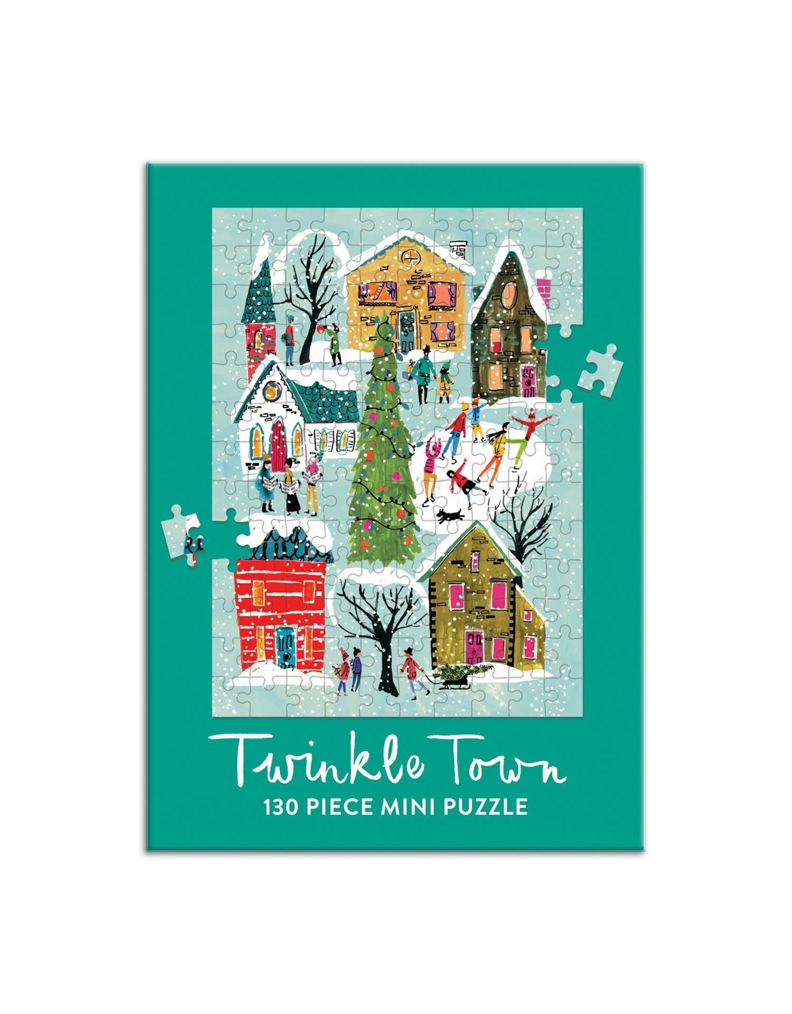 Galison Twinkle Town Mini Puzzle