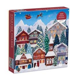 Galison Yuletide Village 500 Piece Puzzle
