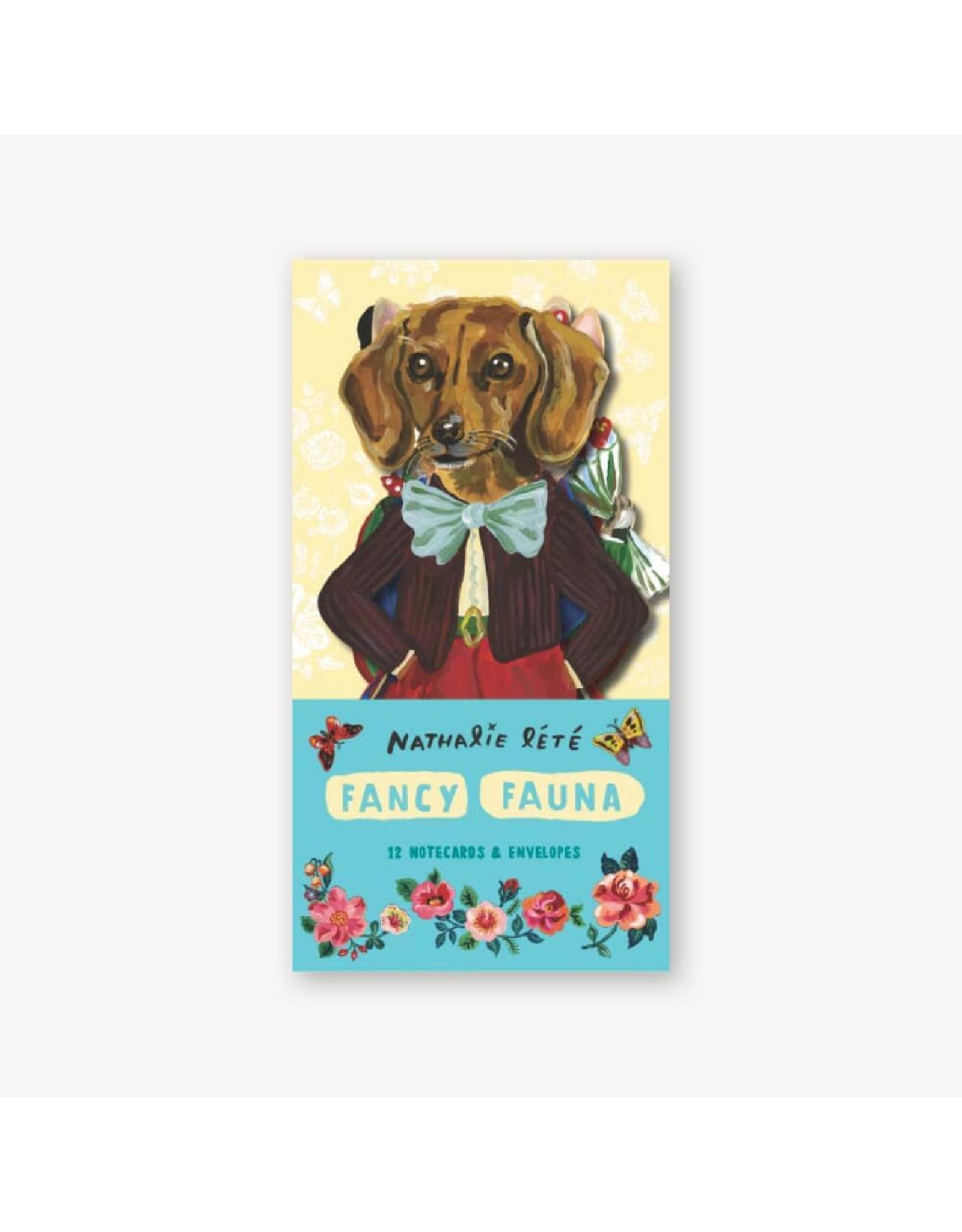 Raincoast Books Fancy Fauna: 12 Notecards & Envelopes