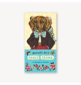 Fancy Fauna: 12 Notecards & Envelopes
