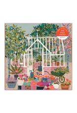 Galison Greenhouse Gardens 500 Piece Puzzle