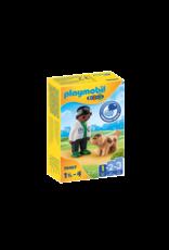 Playmobil Playmobil 1.2.3. 70407 Vet with Dog