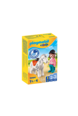 Playmobil Playmobil 1.2.3. 70404 Rider with Horse