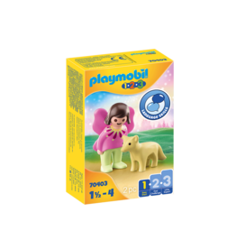 Playmobil Playmobil 1.2.3. 70403 Fairy Friend with Fox