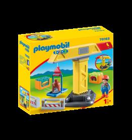 Playmobil Playmobil 1.2.3 70165  Construction Crane