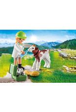 Playmobil Playmobil Special Plus 70252 Vet with Calf