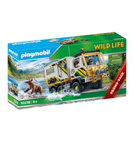 Playmobil Playmobil Wildlife 70278 Outdoor Expedition Truck