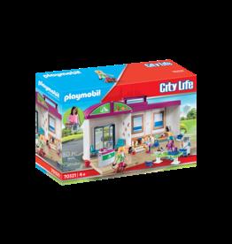 Playmobil Playmobil City Life 70321 Take Along Vet Clinic