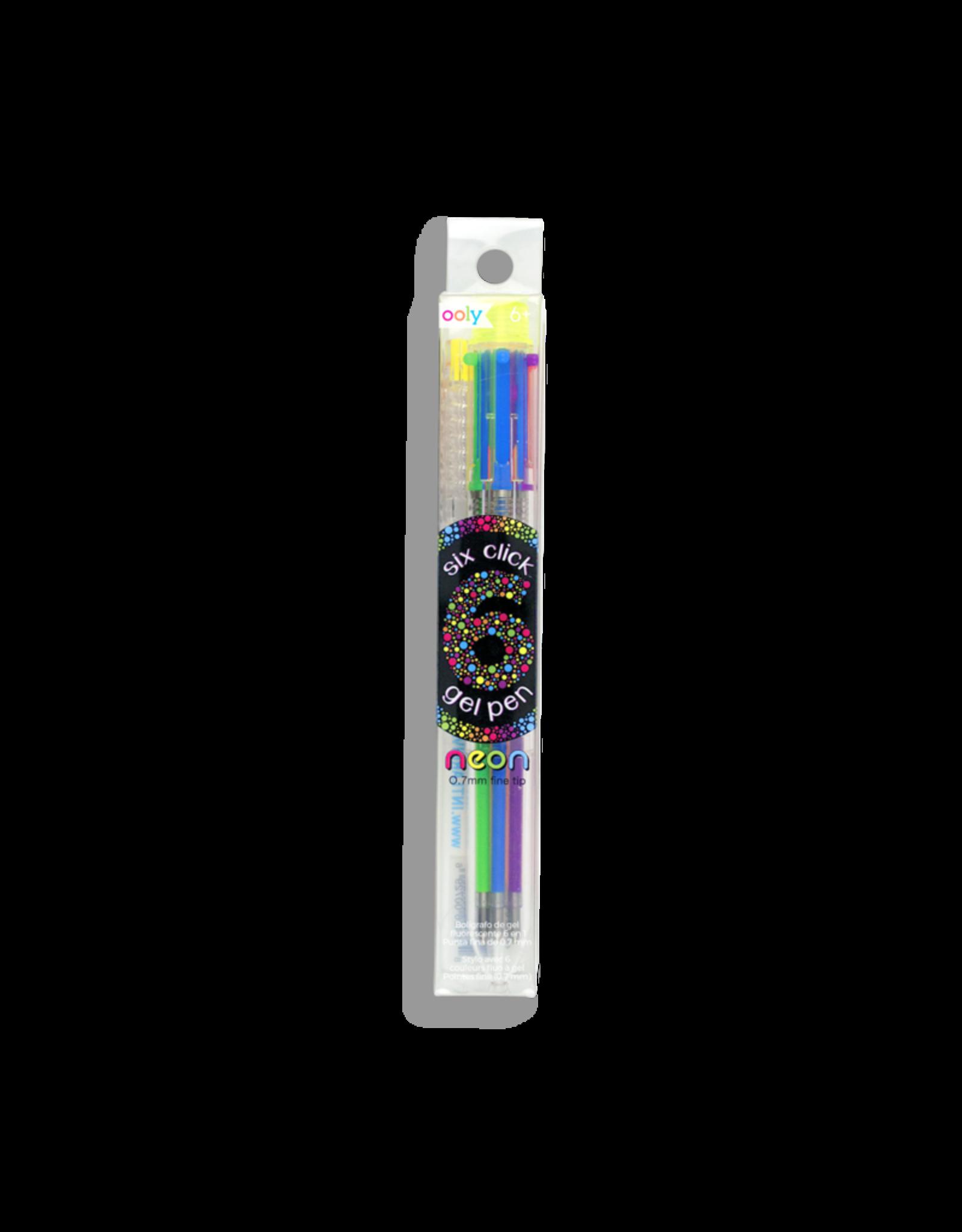 Ooly Neon 6 Click Gel Pen
