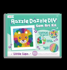 Ooly Razzle Dazzle D.Iy. Gem Art Kit: Lil' Lion