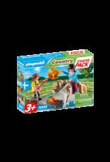 Playmobil Playmobil 70505 Starter Pack Horseback Riding