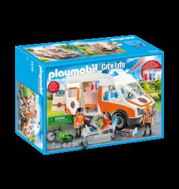 Playmobil Playmobil 70049 Ambulance with Flashing Lights