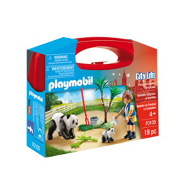 Playmobil Playmobil 70105 Panda Caretaker Carry Case