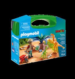 Playmobil Playmobil 70108 Dino Explorer Carry Case