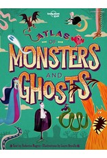 Raincoast Books Atlas Of Monsters And Ghosts