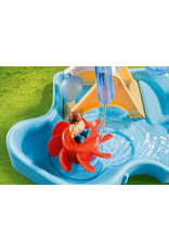 Playmobil Playmobil 1.2.3. 70268 Water Wheel Carousel