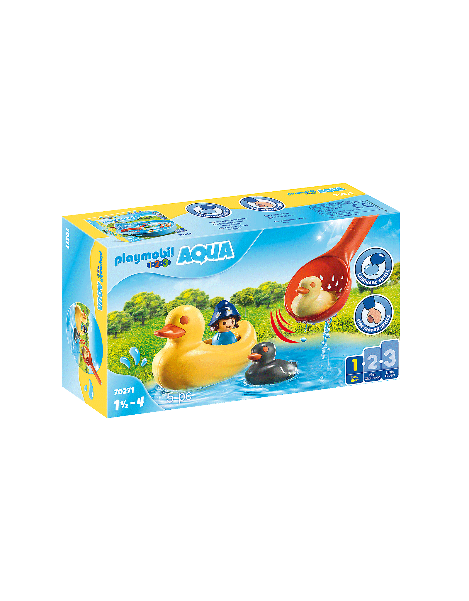 Playmobil Playmobil 1.2.3. 70271 Duck Family