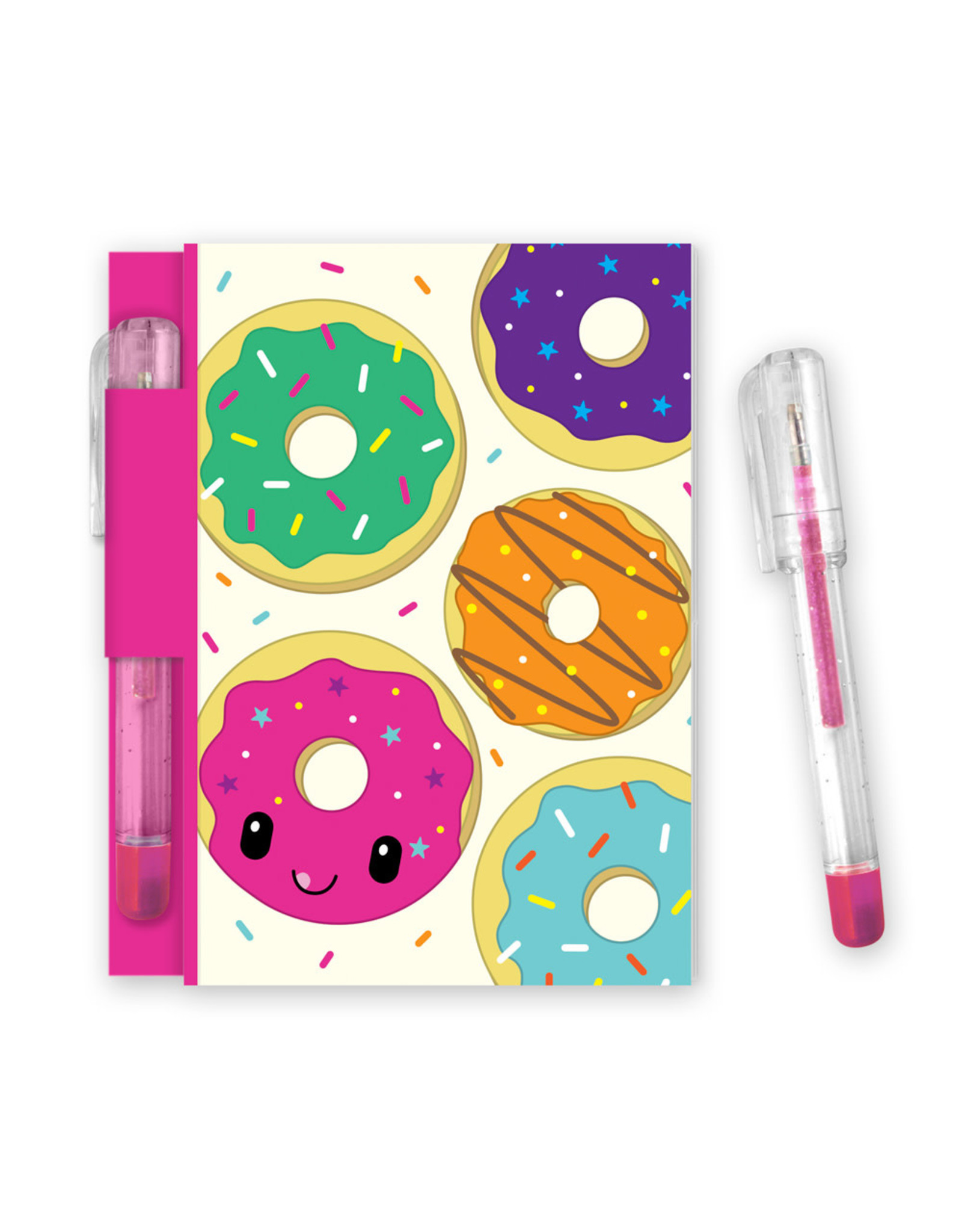 Scentco Yummy Sketch Sniff Note Pad & Pen Jelly Donut