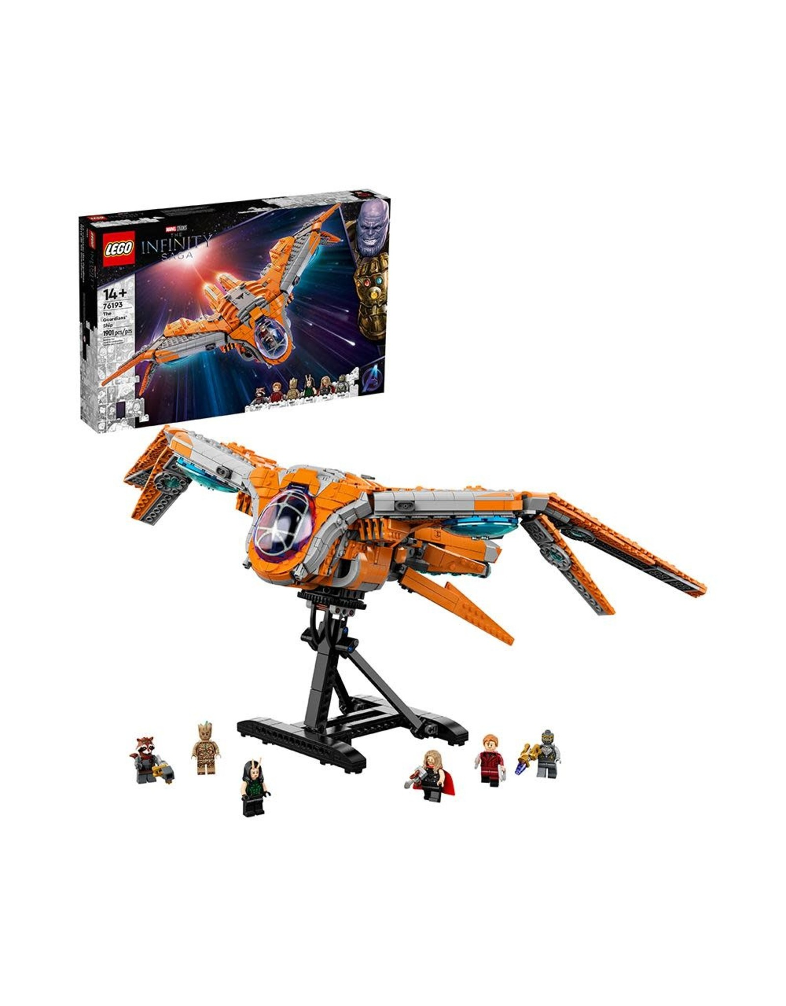 LEGO Super Heroes 76193 The Guardians' Ship