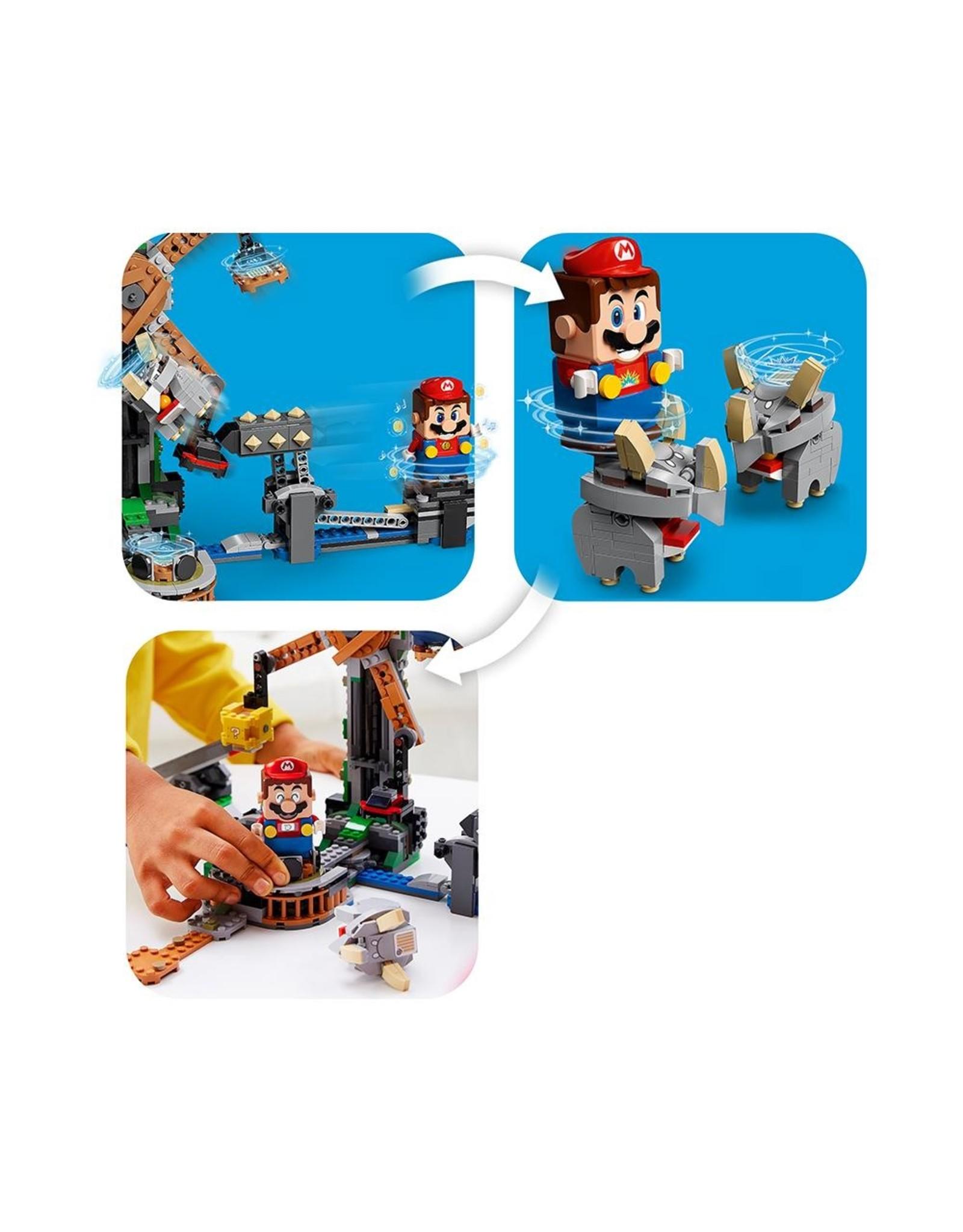 LEGO Super Mario - 71390 Reznor Knockdown Expansion Set