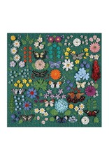 Galison Butterfly Botanica 500 Piece Puzzle