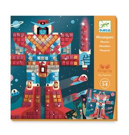 Djeco Mosaic Kit Space Battle
