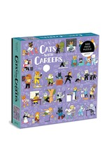 Galison Cats with Careers 500 Piece Puzzle