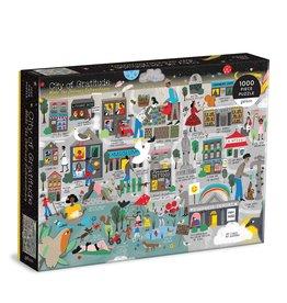 Galison City of Gratitude 1000 Piece Puzzle