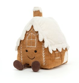 Jellycat Amuseable Gingerbread House Large