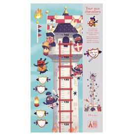 Djeco Knights Tower Growth Chart