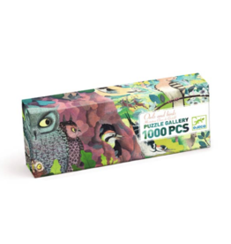 Djeco Owls and Birds 1000 Piece Gallery Puzzle