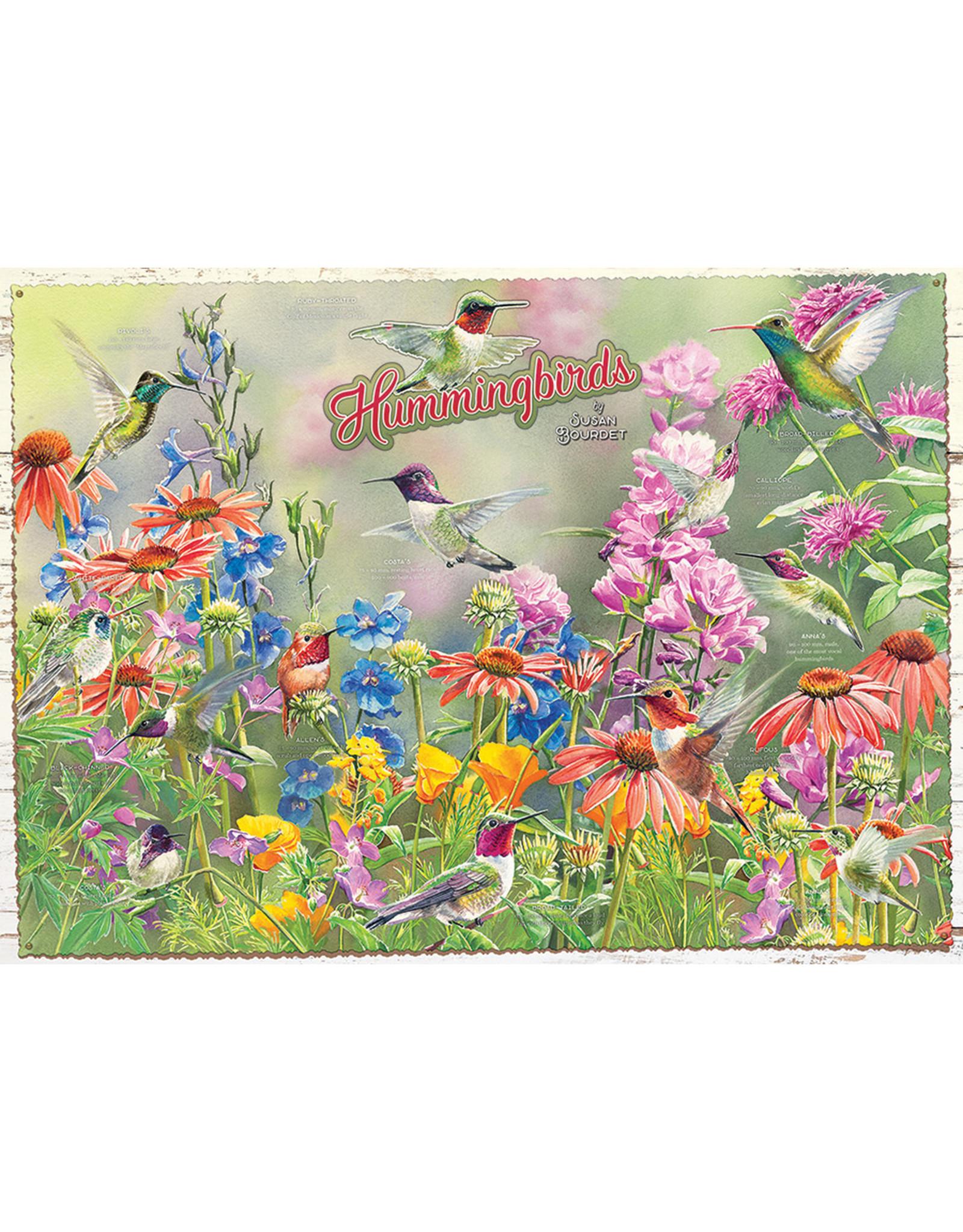 Cobble Hill Puzzles Hummingbirds