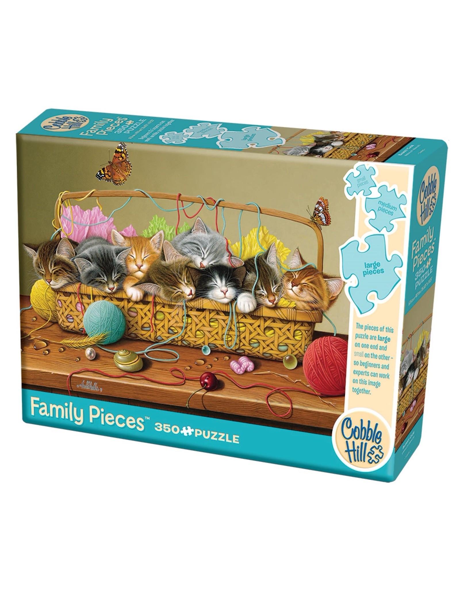Cobble Hill Puzzles Basket Case (Family) 350 Pcs Puzzle