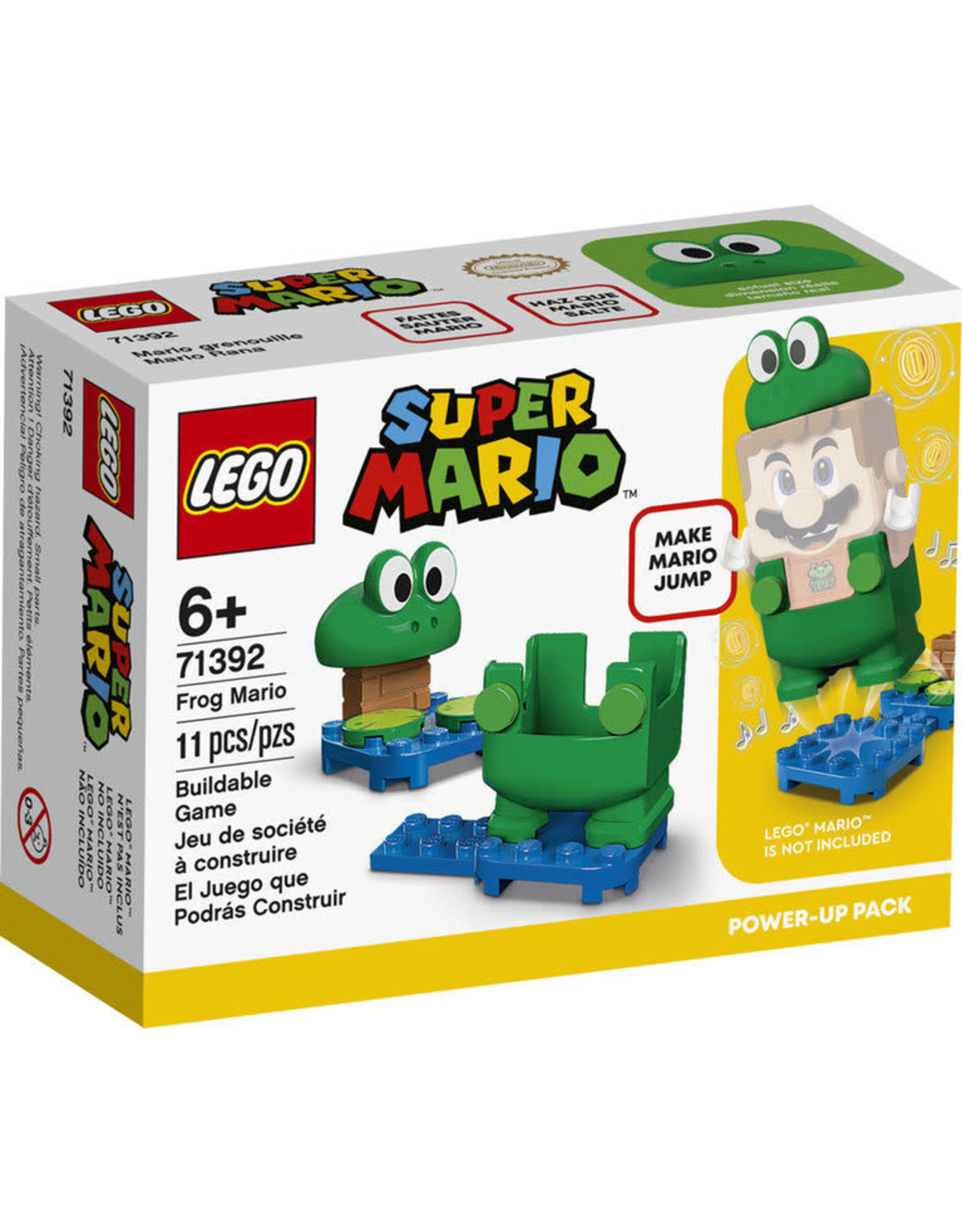 LEGO Frog Mario Power-Up Pack 71392