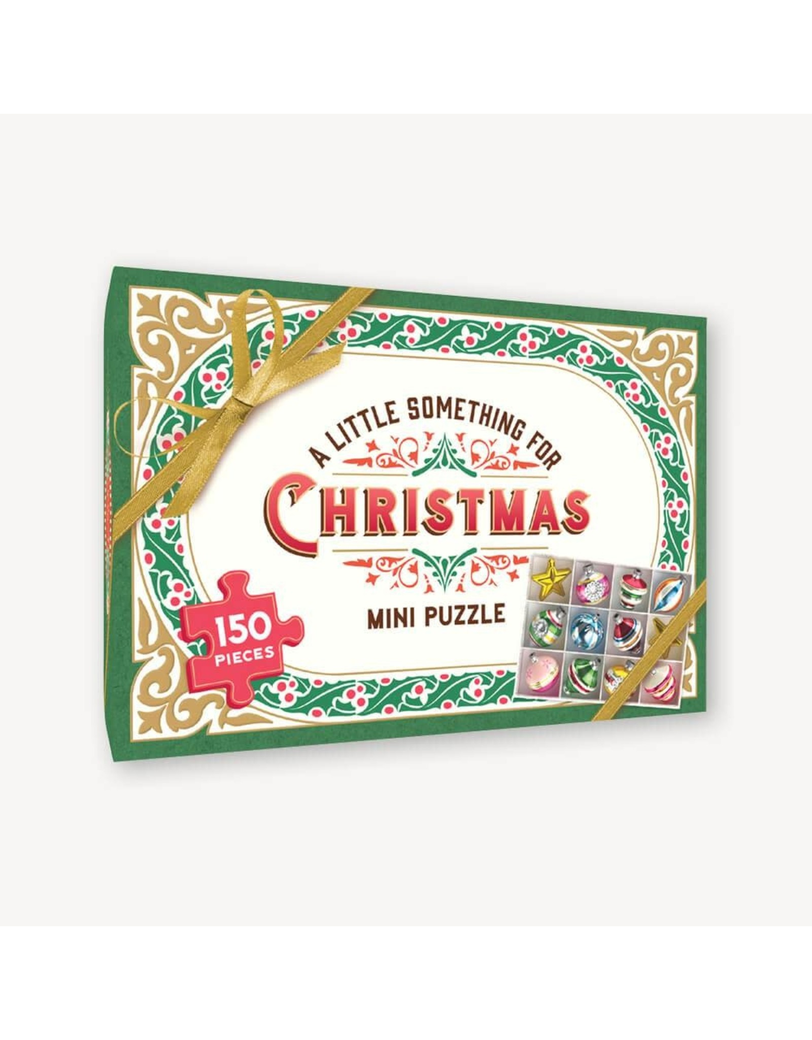 Chronicle Books A Little Something for Christmas: 150 Piece Mini Puzzle