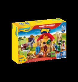 Playmobil 1.2.3 Advent Calendar 70259 Christmas Manger