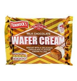 Tunnocks Tunnocks Wafer Cream 4 Pack