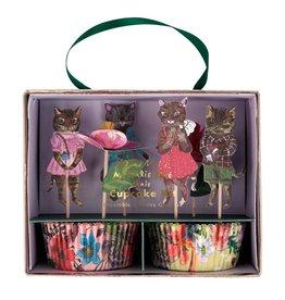 Meri Meri Nathalie Lete Flora Cat Cupcake Kit