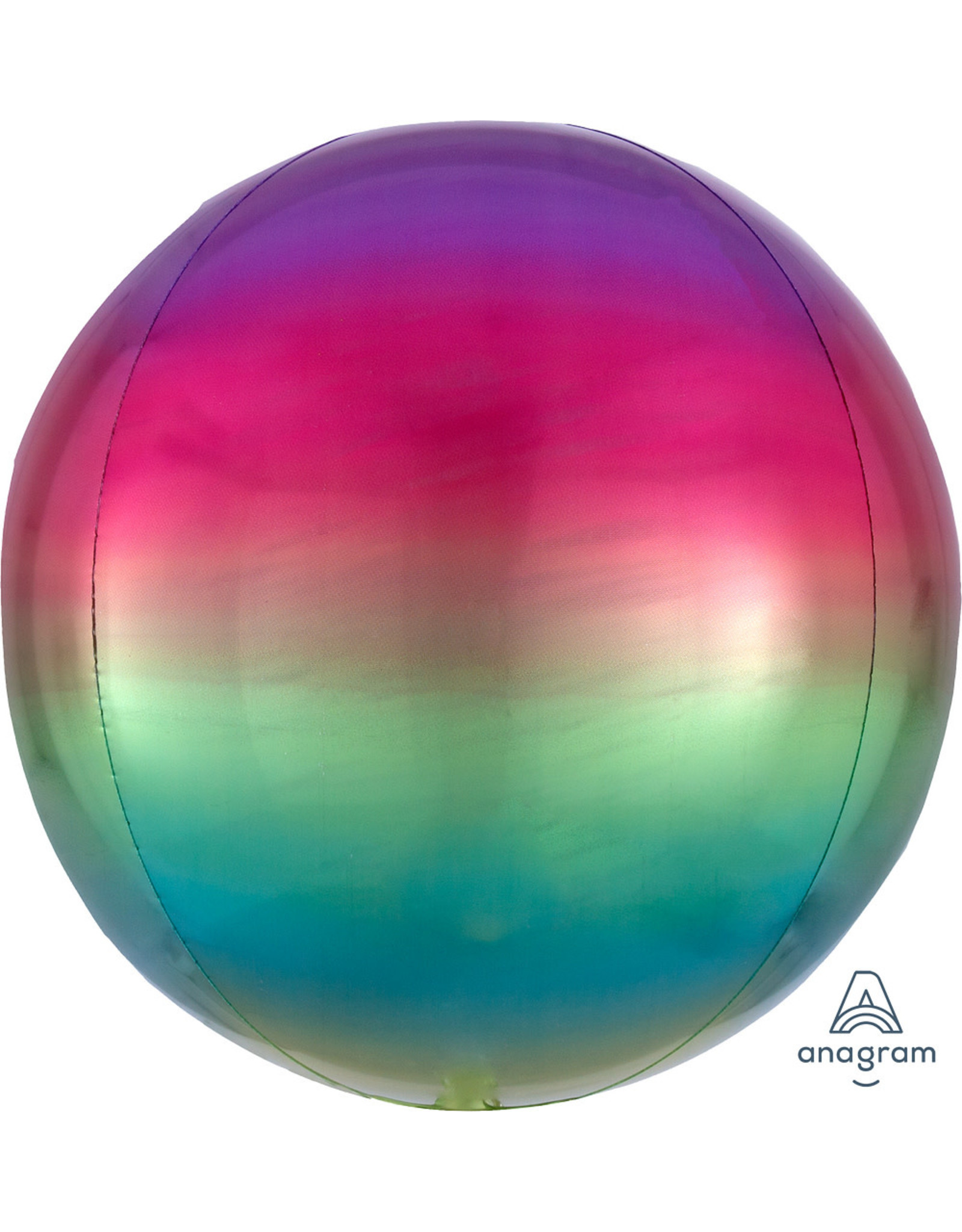 "Ombre Orbz Rainbow 16"" Xl"