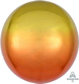 """Ombre Orbz Yellow & Orange 16"""" Xl"""